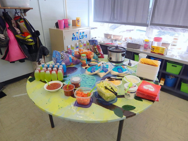 Miss Dwyer's Class Taco Party #1