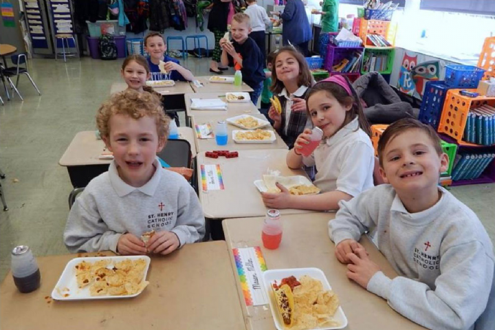 Miss Dwyer's Class Taco Party #11