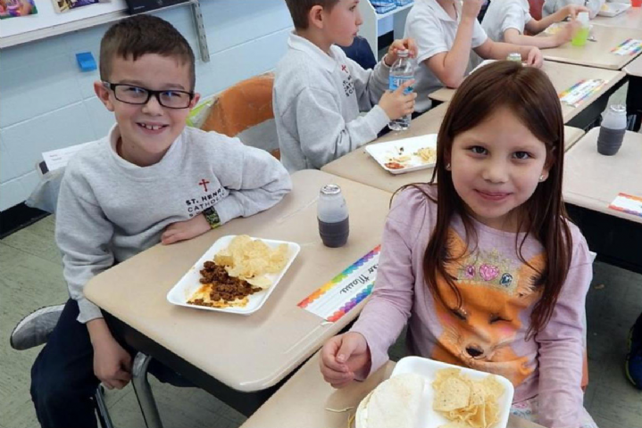 Miss Dwyer's Class Taco Party #8