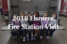 2018 Elsmere Fire Station Visit