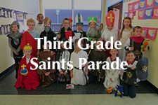 2018 Third Grade Saints Parade