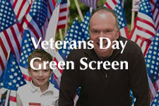2018 Veterans Day Green Screen