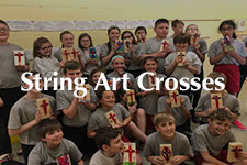 2019 String Art Crosses