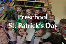2019 Preschool St. Patricks Day