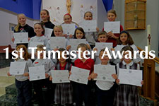 2018 1st Grade Trimester Awards