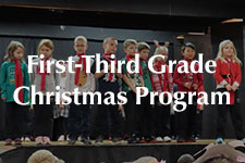 2018 First-Third Grade Christmas Program