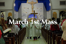 2019 March 1st Mass