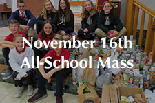 2018 November 16th All-School Mass
