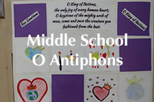 2018 Middle School O Antiphons