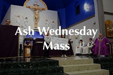 2019 Ash Wednesday Mass