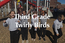 Third Grade Twirly Birds