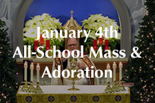 2019 January 4th Mass & Adoration