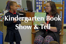 2018 Kindergarten Book Show & Tell