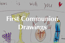 2019 First Communion Drawings