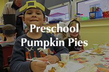 2018 Preschool Pumpkin Pies