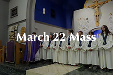 2019 March 22nd Mass