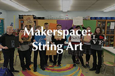 2019 Makerspace String Art