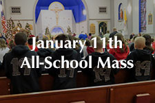 2019 January 11th All-School Mass