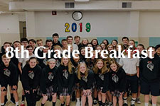 2019 8th Grade Breakfast
