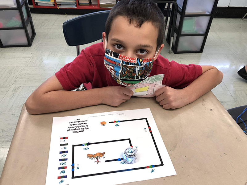 2020 Second Grade Halloween Ozobots