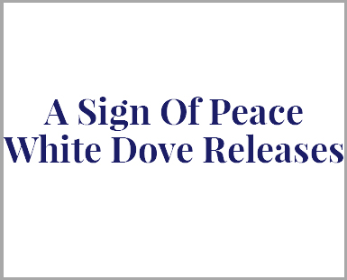 A Sign of Peace White Doves